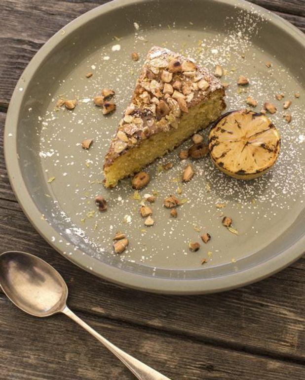 Gâteau aux amandes et au citron