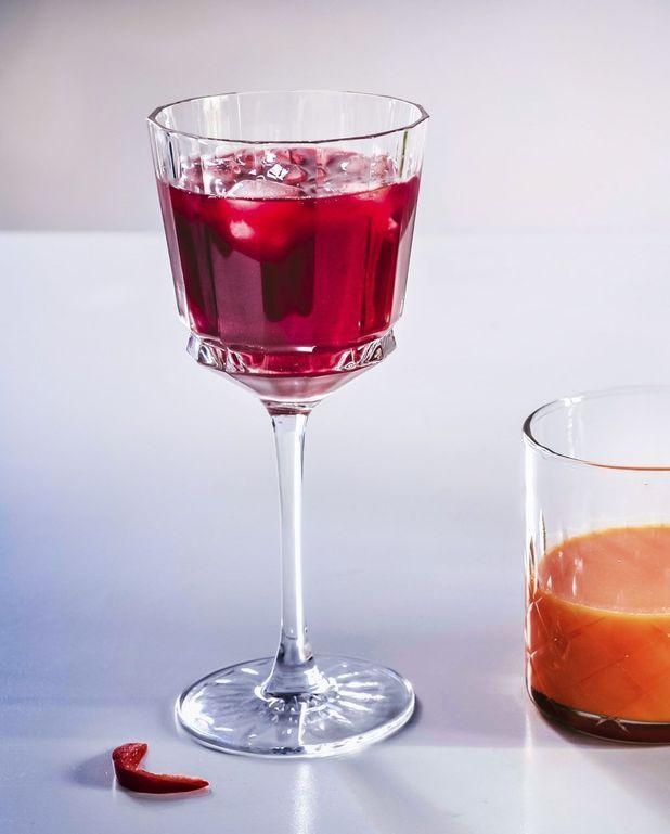 Jus betterave, poivron rouge et vinaigre balsamique