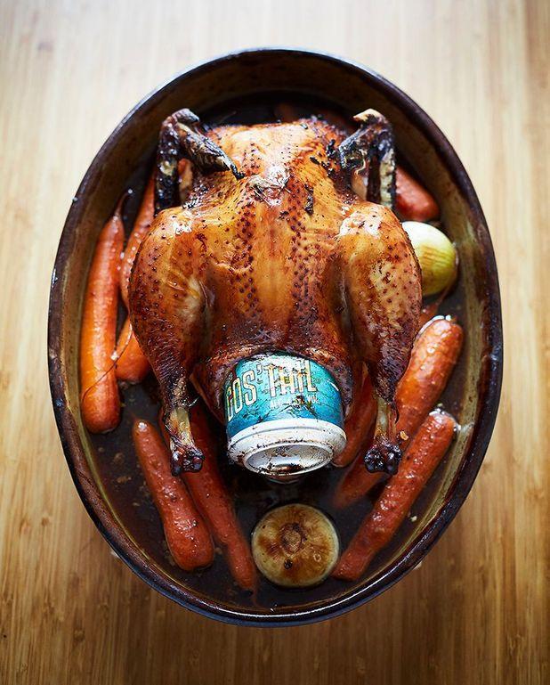 Le poulet cuit par le cul