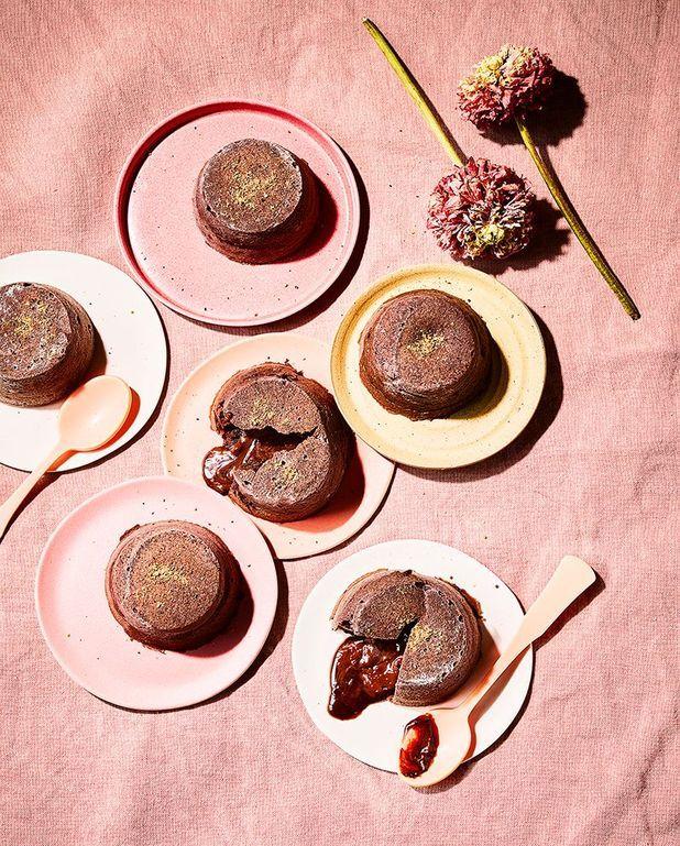 Mi-cuits au chocolat praliné et fève tonka