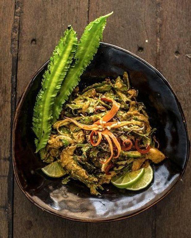 Salade aux haricots ailés
