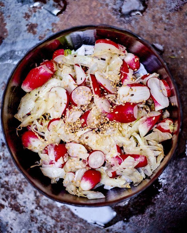 Salade de fenouil et radis