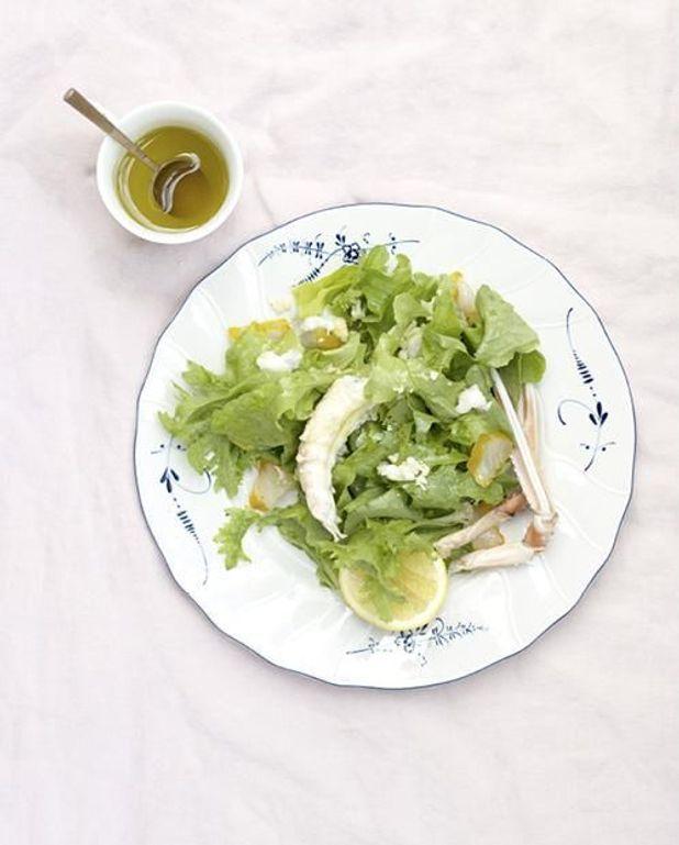 Salade de langoustines et haddock