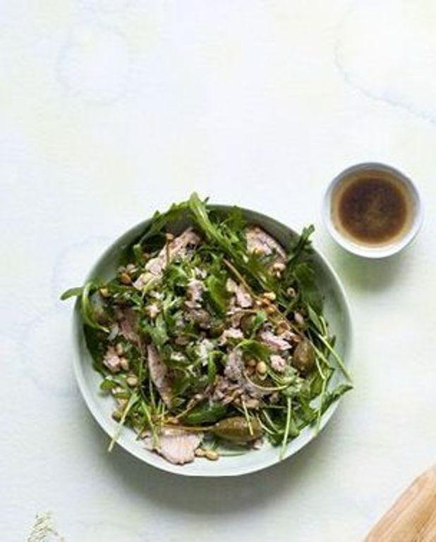 Salade de veau et thon