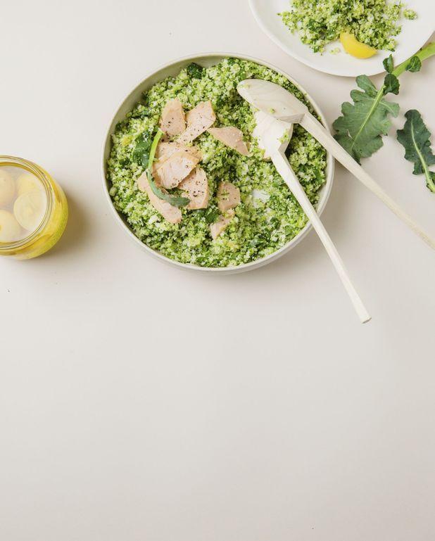 Taboulé de chou-fleur et de brocoli