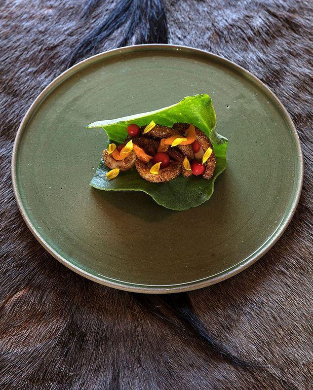 Tacos au tjokka et slangbessie