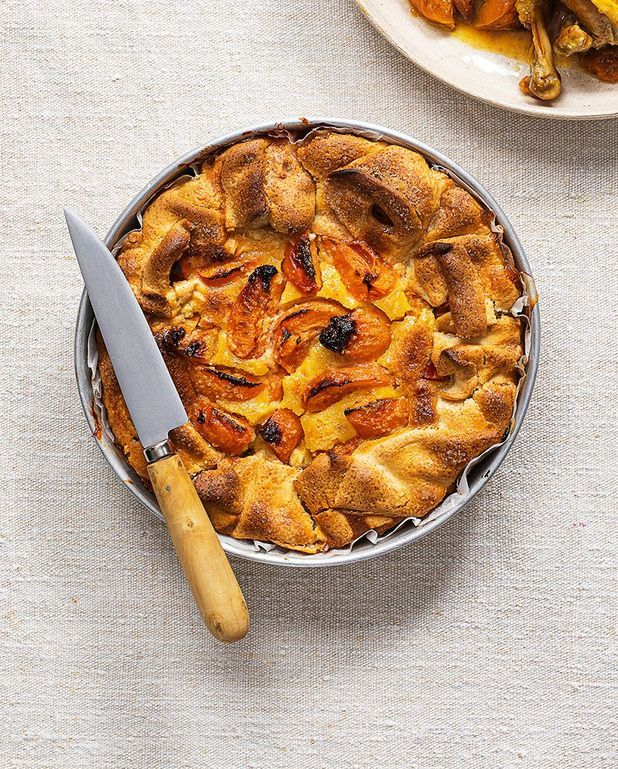 Tarte rustique rapide aux abricots