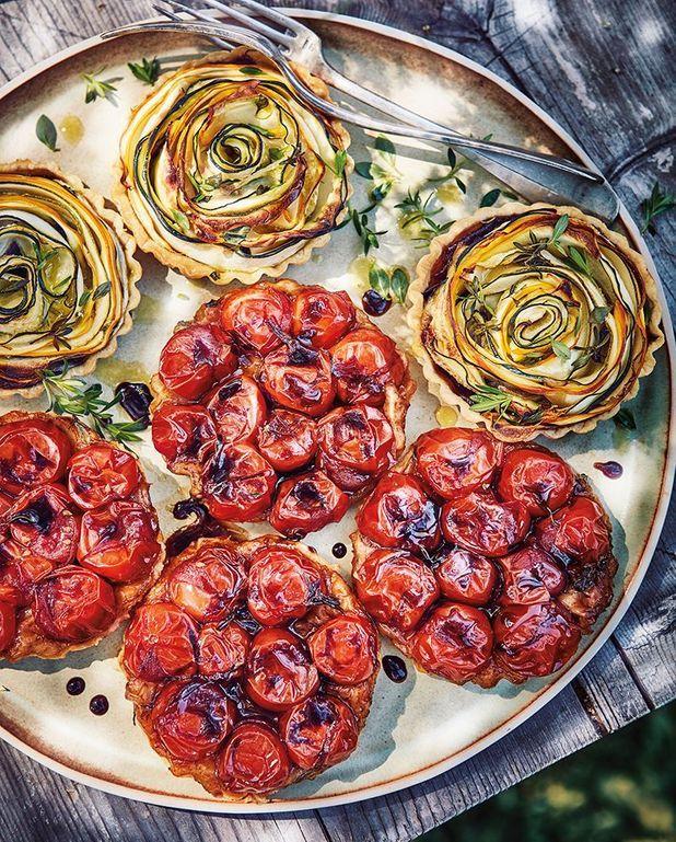 Tatins de tomates-cerises
