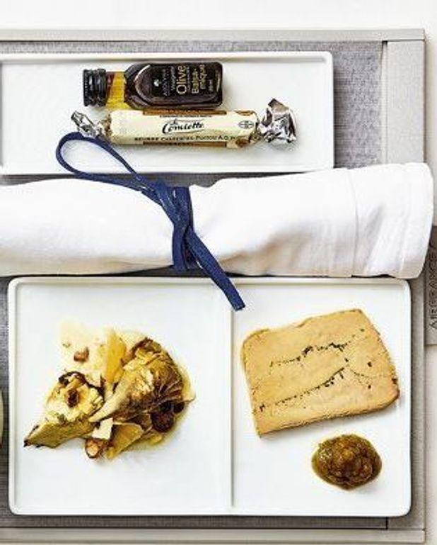 Terrine de foie gras au champagne et aux deux poivres