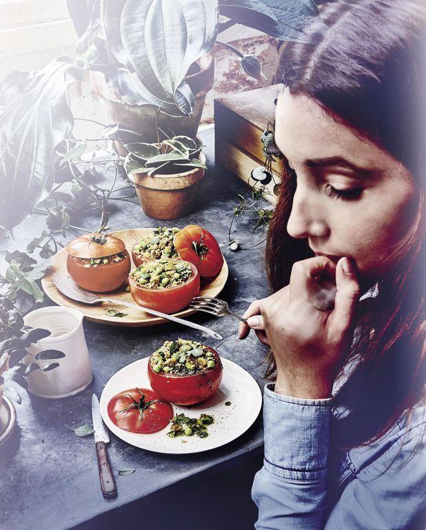 Tomates farcies au couscous d'épeautre