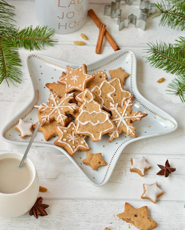 Biscuits chaï de Noël vegan
