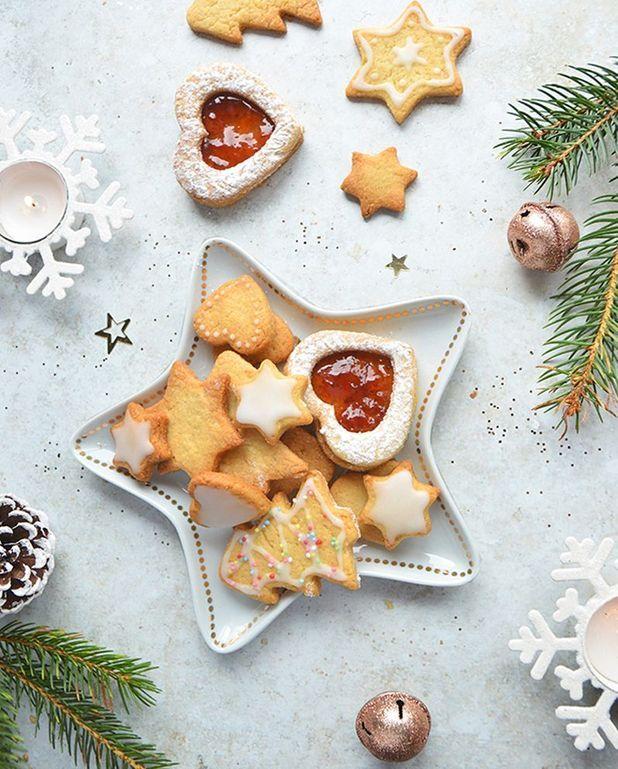 Biscuits de Noël vegan à la vanille