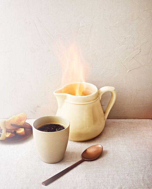 Café brûlot aux agrumes