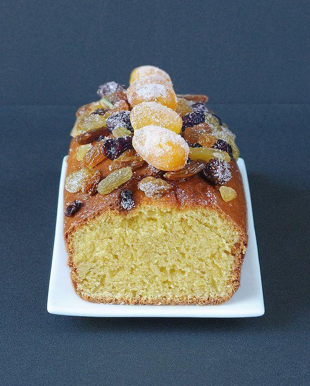 Cake de Noël aux fruits secs