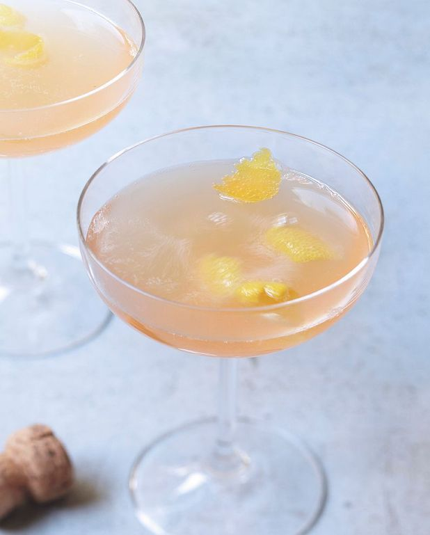 Cocktail champagne - pamplemousse rose