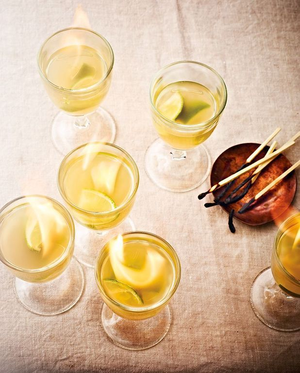 Cocktails flambés
