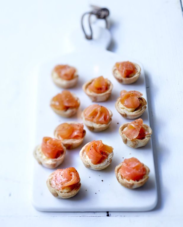 Cup saumon et Boursin au poivre