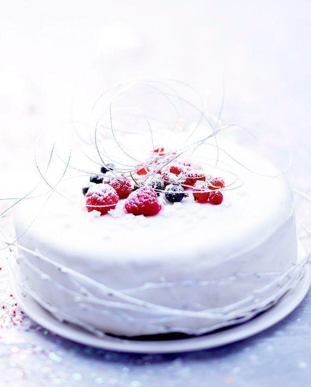 Gâteau blanc aux épices