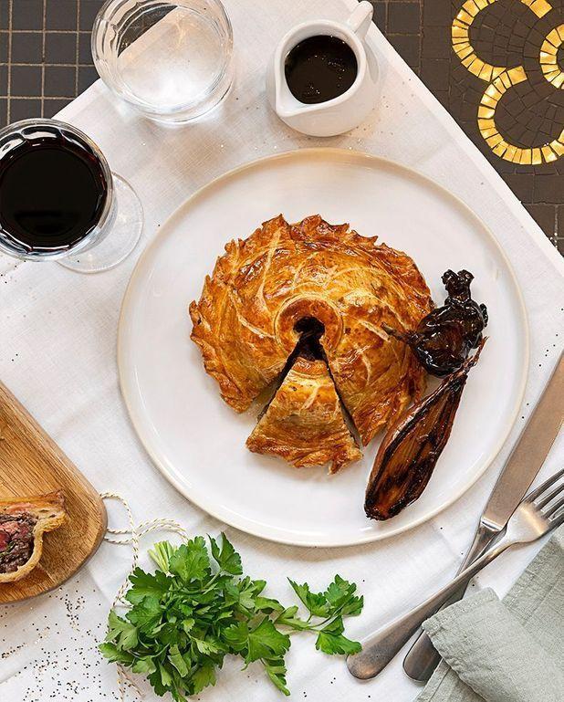Tourte de colvert au foie gras