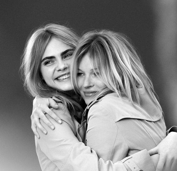 Kate et Cara pour My Burberry : les coulisses de la rencontre