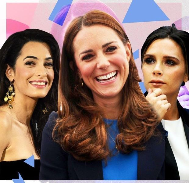 Kate Middleton, Amal Alamuddin, Victoria Beckham: le match des Londoniennes