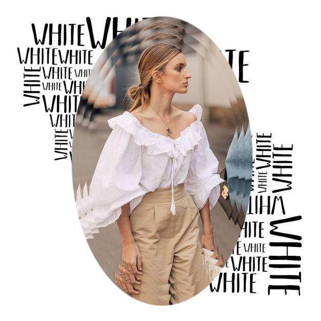 6 nouveau Elle d'aimer raisons blanche la blouse à v0NOmnw8
