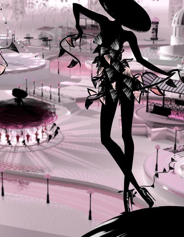Guerlain La Petite Robe Publicité Élue Elle De L'année Noire GVpUMqSz