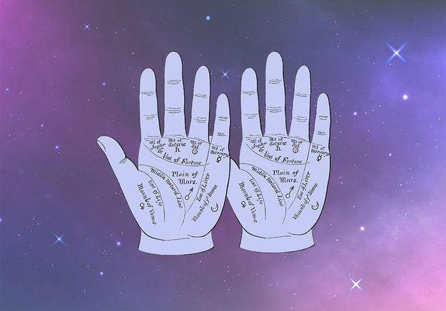 Elle lit dans vos mains : l'art de la chirologie