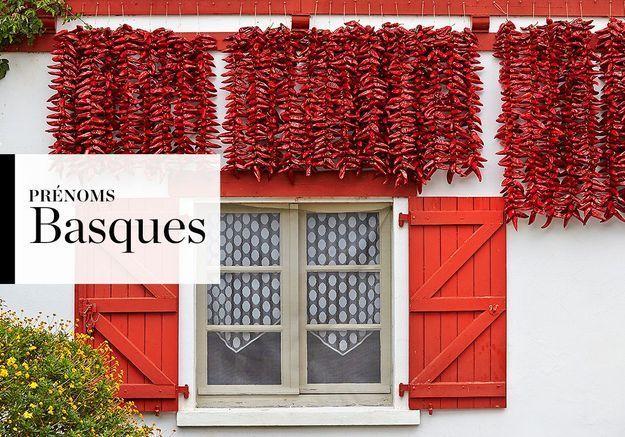 Notre sélection de prénoms Basques