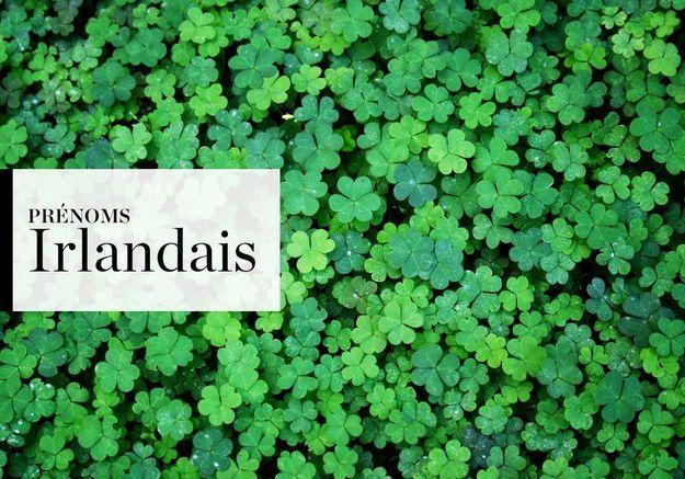Notre sélection de prénoms Irlandais