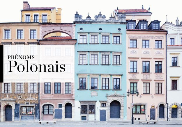 Notre sélection de prénoms Polonais