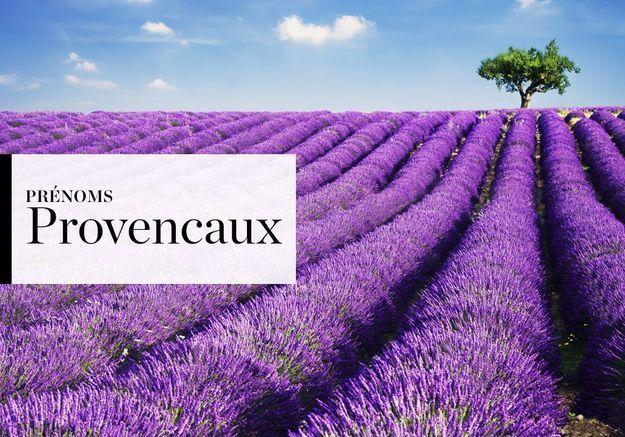 Notre sélection de prénoms Provençaux