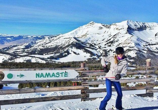Et du ski...