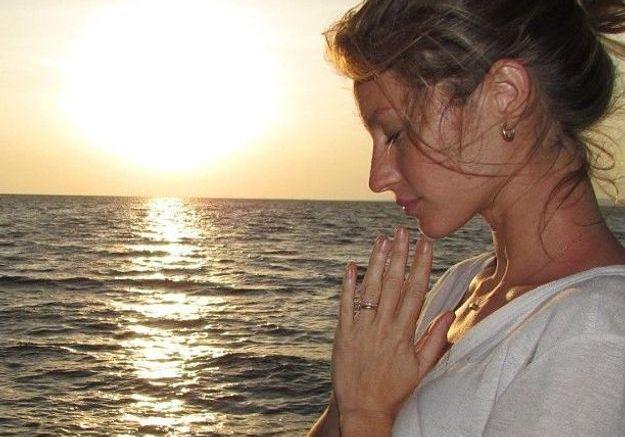 Instant zen face à la mer
