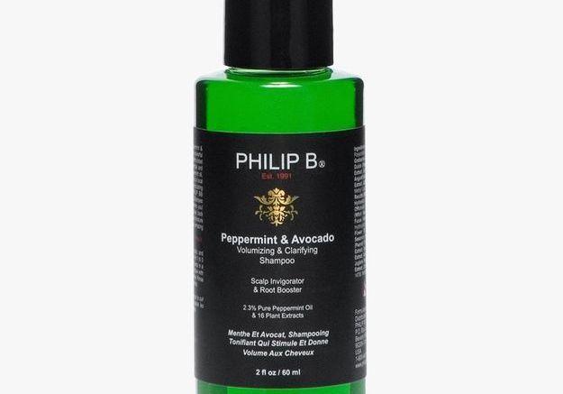 Shampoing volumisant et clarifiant menthe et avocat, Philip B