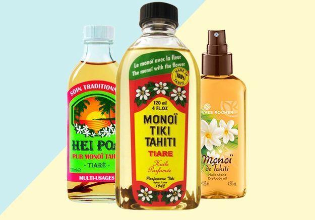 10 huiles de monoï pour sublimer corps et cheveux