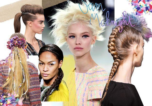 Les plus belles coiffures de défilés du coiffeur star Sam McKnight