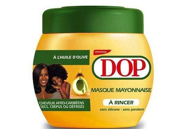 Masque Mayonnaise à l'huile d'olive, Dop