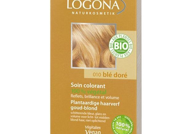 Soin colorant végétal blé doré, Logona
