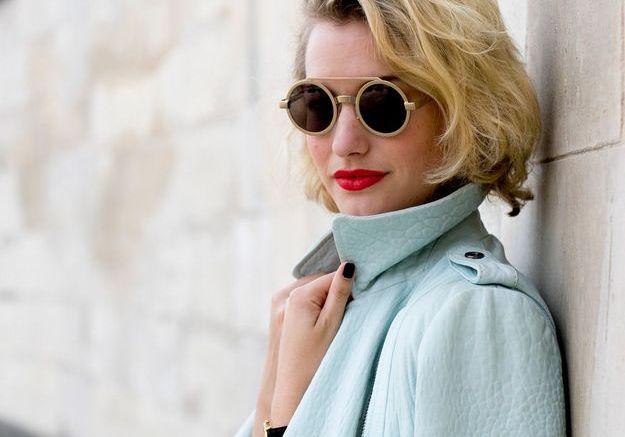 Carré court blonde automne-hiver 2016