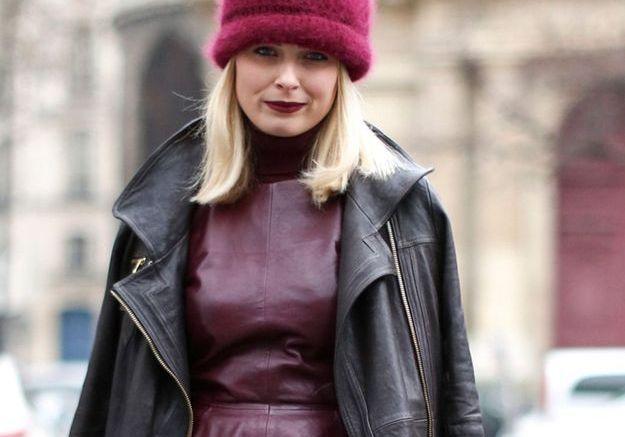 Carré long blond platine automne-hiver 2016