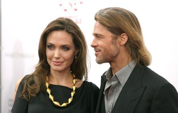 Brad Pitt et Angelina Jolie en 2011