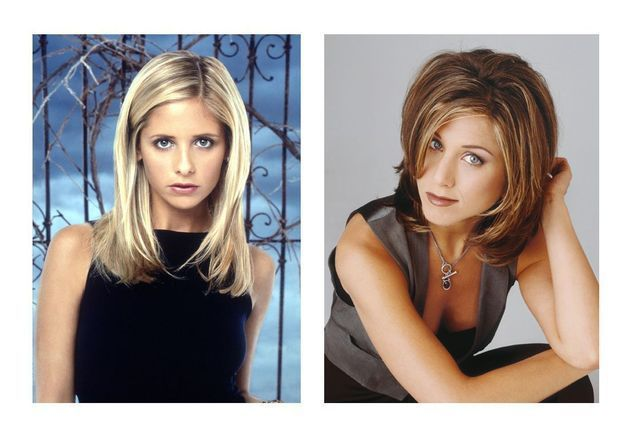 Les coupes de cheveux iconiques des séries télé des années 90