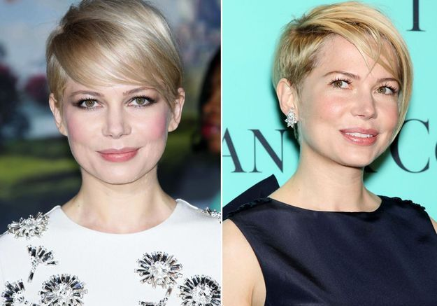 Le half hawk de Michelle Williams