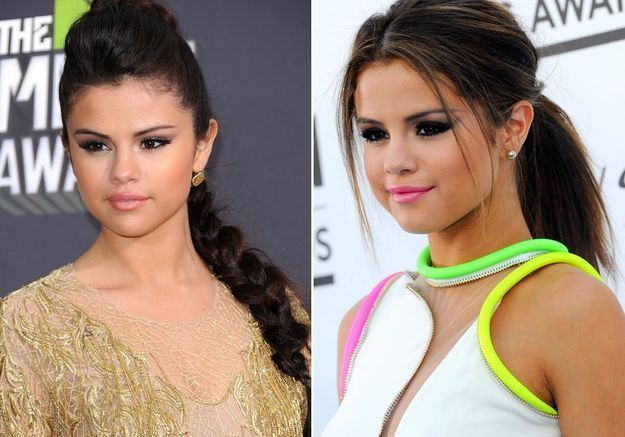 Les mèches de Selena Gomez