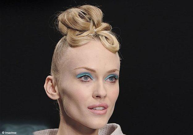 Fashion Week de Londres été 2012 : les coiffures