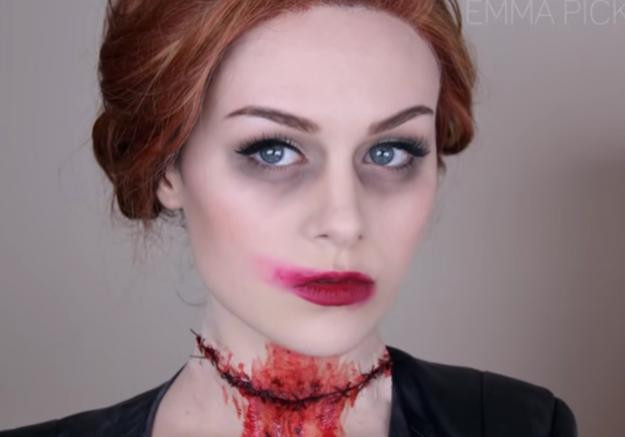 Maquillage Halloween : Abaddon de Supernatural