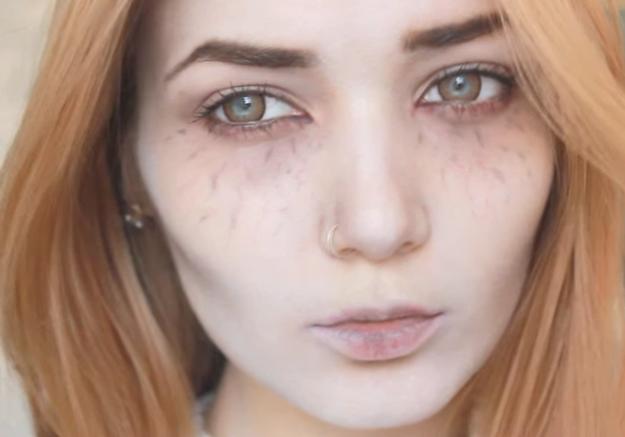 Maquillage Halloween : vampire