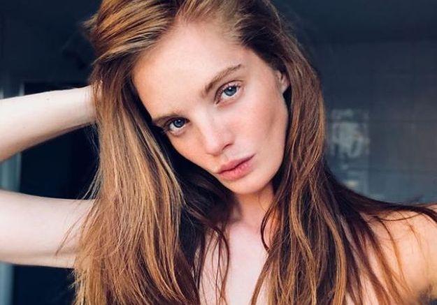 Alexina Graham sublime sans maquillage