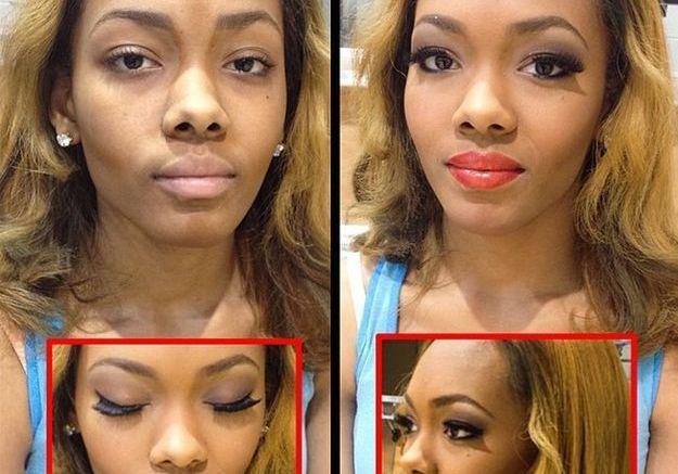 Le contouring de makeupbyzurij